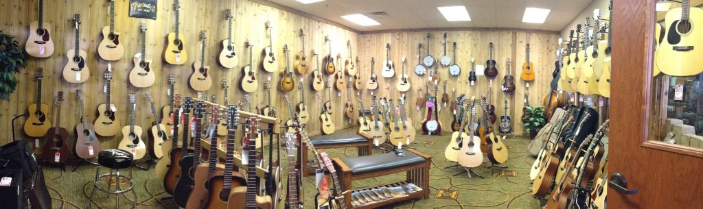 OKC Music Acoustic Room